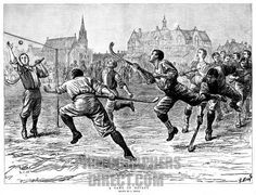 hockey in the early 1900's