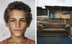 'Portraits Of Children From All Over The World And Where They Sleep' is a telling series that explores the various sleeping environments of children from all over the world. Created by photographer James Mollison | it shows a portrait of each child alongside the space or room they sleep in.-