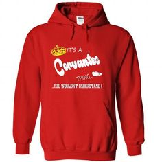 I Love Its a Cervantes Thing, You Wouldnt Understand !! tshirt, t shirt, hoodie, hoodies, year, name, birthday T-Shirts