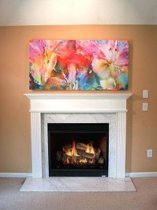 Abstract Flower Art Large Canvas Art Painting Floral