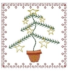 Christmas Squares 4x4 Set | Christmas | Machine Embroidery Designs | SWAKembroidery.com Homeberries Designs