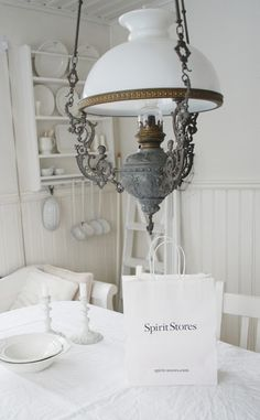 * Entry Stairs, White Plains, Cottage Interiors, White Cottage, Shades Of White, Light Fixtures, Home Improvement, Chandelier, Ceiling Lights