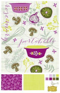 Pattern design     http://www.valeriehart.com