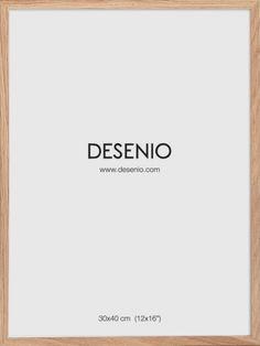 Bilderamme Eik, 30x40 i gruppen Plakatrammer hos Desenio AB (AAE50116)