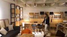 No te pierdas la increíble propuesta de mobiliario de Perceptual. Diseño. Mobiliario. Madera. Color. Mesa. Sillas. Estantería. Encuentra dónde comprar este diseño y Producto en Colombia.