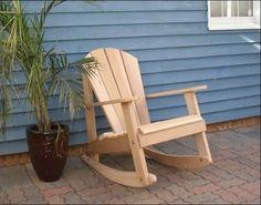 Cedar Adirondack Rocking Chair - contemporary - Rocking Chairs - Fifthroom.com
