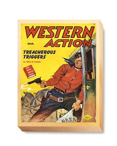WES 006 Western Comic Western Action