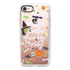 Witch Better Have My Candy - iPhone 7 Case, iPhone 7 Plus Case, iPhone... ($40) ❤ liked on Polyvore featuring accessories, tech accessories, iphone case, iphone cases, apple iphone case and iphone cover case