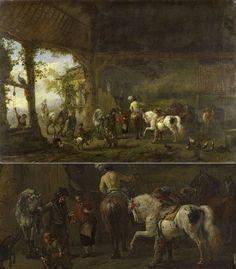 LE Spotted Horse dans l'Histoire / De la Renaissance au 17e Siècle / Part.II
