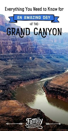 Taking a road trip to Grand Canyon National Park in Arizona this year? It's the perfect bucket list camping or family vacation trip and there are plenty of things to enjoy in the park with kids. Plan the perfect day for the family with these tips, itinerary ideas, hiking spots, and lodging suggestions. There are tons of ideas for an unforgetable experience exploring this beautiful destination. #grandcanyon #arizona #familytravel #thingstodo #mustdo #bucketlist #kids #adventure #nationalparks