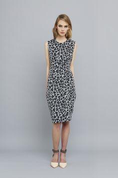 Ingrid Starnes AW15 // Claude Dress, leopard.
