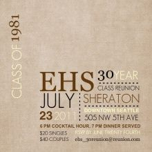 66 best high school reunion invites images on pinterest class easily customize this linen texture class reunion invitation design using the online editor all of our reunion invitations design templates are fully stopboris Choice Image