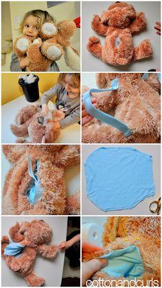 DIY Animal Backpack - adorable!