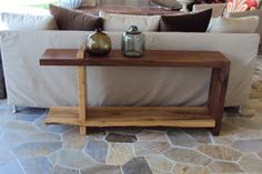 Console Table  Sofa Table by Greenwoodbay on Etsy, $3500.00