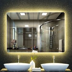Led mirror light sensor controlled mist bathroom lamp modern antifog antifog led mirror light sensor controlled mist bathroom lamp modern illuminated aloadofball Choice Image