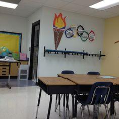 Olympic classroom