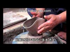"""陶芸家:砂庭大門による""""蚊取り線香炉""""の作り方 How to make the """"mosquito coil furnace"""""""
