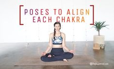 Did you know you can align your chakras with chakra yoga? Certain poses help with chakra alignment. Practice yoga for chakra alignment with these 7 poses. Yoga Poses For Back, Yoga Poses For Men, Cool Yoga Poses, Yoga Poses For Beginners, Partner Yoga, Vinyasa Yoga, Yin Yoga Posen, Hip Opening Yoga, Free Yoga Videos