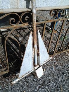 Danforth Anchor, Small from Black Dog Salvage