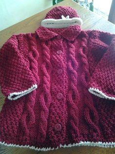 tejido tricot dos agujas