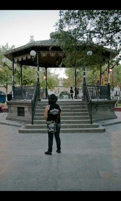 Kiosko de la Plaza de Armas de Ciudad Juárez.