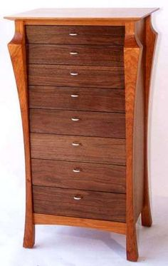 Chapter 18 - Shingle Style and American Arts and Crafts - Furniture - Updated Chest of Drawers - 1900, Charles Rohlfs