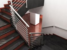 M8100 Railing System Stairs, Home Decor, Stairway, Staircases, Interior Design, Ladders, Home Interior Design, Ladder, Home Decoration