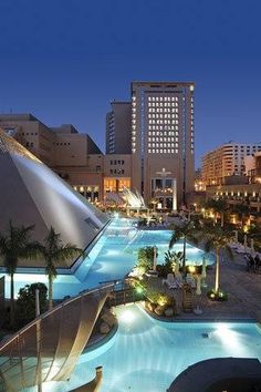 Facade of InterContinental Citystars Cairo Hotel #Egypt