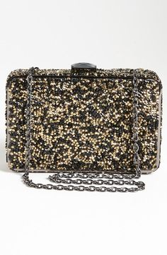 Pretty glitter clutch - perfect for holiday parties