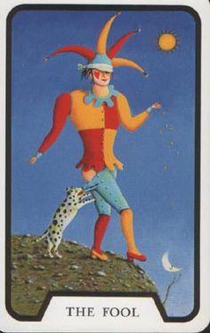 The Fool, tarot.