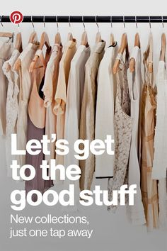 "Every week in the Pinterest Shop, our editors comb through thousands of brands and millions of buyable Pins to bring you the best of the best. When you see something you love, tap ""Buy it"" and it's yours in 60 seconds or less, without ever leaving the app. Happy shopping!:"