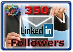 350 USA Real Linkedin followers.