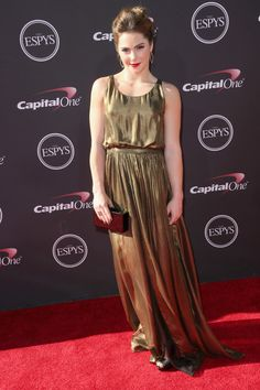 Olympic gymnast McKayla Maroney attends The 2013 ESPY Awards at Nokia Theatre L.A. Live on July 17, 2013 in Los Angeles, California.