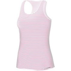 Brooks Dlite Micro Mesh Racerback - super light, translucent tank for layering - bright pink and white