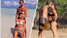 Everyone knows Pierce Brosnan for his work as James Bond as well as being Meryl Streep's on-screen lover. But, people often don't know just how much Brosnan's offscreen romance is just as good as any Hollywood Couples, Celebrity Couples, In Hollywood, Meryl Streep, Kim Kardashian Blazer, Mature Women Hairstyles, James Bond Actors, Pool Party Outfits, Surgery Gift