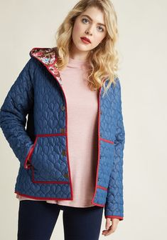 c9bd90251270e All Work and More Play Reversible Coat in Navy Vintage Jacket