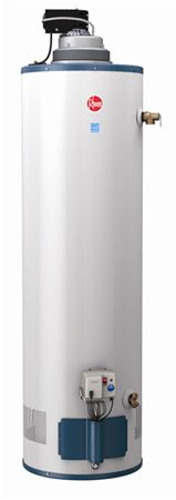 Rheem XR90 Extreme Recovery Gas Water Heater, only 29 gal tank but produces 90 gal of hot water in an hr
