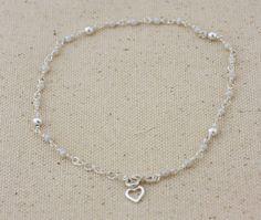 Sterling+Silver+Anklet+Sweet+Water+Pearls+Anklet+by+Alyssasdreams