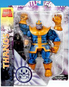 #MarvelSelect #Thanos  #DiamondSelect #actionfigures #action #figures #figurasdeação #figuras #ação #toys #toy #quadrinhos #comics #villains #vilões #Death #Marvel #infinitegauntlet #Avengers #Vingadores