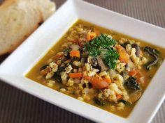 大麦スープ(ヴィーガン)の画像