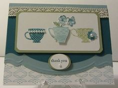 Tea Shoppe set -  by Maureen