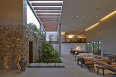 jardim interno Anastasia Arquitetos   Residenciais