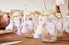 Looking for a hot and trendy baby shower idea? Don't miss this Boho Baby Shower featured at Kara's Party Ideas with its on-point decor and yummy sweets! Baby Shower Boho, Unicorn Baby Shower, Girl Shower, Baby Shower Themes, Shower Ideas, Bridal Shower, Lila Party, Babyshower Party, Party Deco