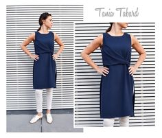 Tania Tabard - Sizes 16, 18, 20 - PDF sewing pattern for printing at home by Style Arc - Instant Download by StyleArc on Etsy https://www.etsy.com/uk/listing/271369670/tania-tabard-sizes-16-18-20-pdf-sewing