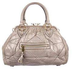 82e35c4db Marc Jacobs Quilted Stam Bag Marc Jacobs Designer, Designer Handbags On  Sale, Quilted Leather