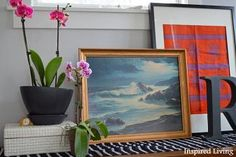 Inspired Living: Spring Entry: Adding Touches of Color