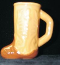 Ceramic Boot Shot Glass