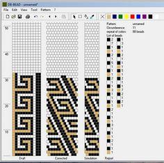 Galerie tricotée flagelles-shnurikov et les modèles à eux | biser.info - tout au sujet des perles et des œuvres de perles