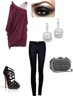 """night out"" by shayshay7000 on Polyvore"