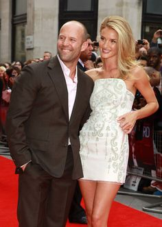 Rosie Huntington-Whiteley in Emilio Pucci with her handsome beau Jason Statham